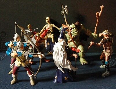 Papo Collection Of Various Figures