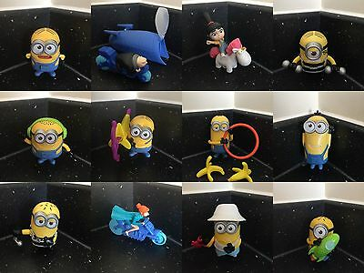 McDonalds Despicable Me 3 2017 Happy Meal Toys, All Toys Available 12 To Collect