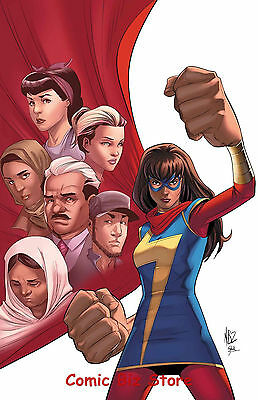Ms Marvel #19 (2017) 1St Printing Bagged & Boarded Marvel Now