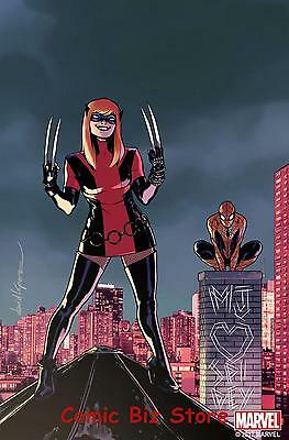 All New Wolverine #21 (2017) 1St Printing Lopez Mary Jane Variant Cover