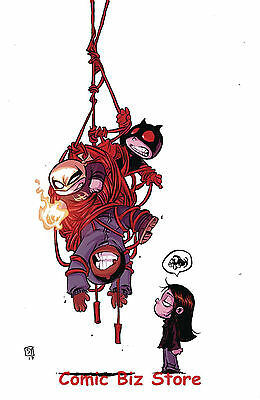 Defenders #1 (2017) 1St Printing Skottie Young Baby Variant Cover