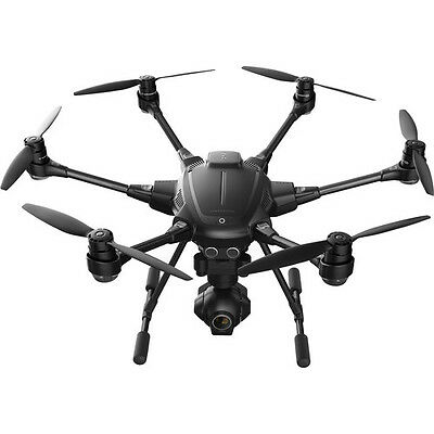 YUNEEC Typhoon H Hexacopter with GCO3+ 4K Camera, Wizard Wand, and Backpack