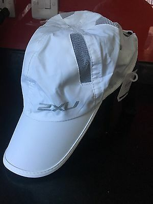 Running Cap - 2XU. Brand New. White, Unisex, One Size Fits All
