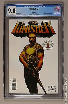 Punisher (2000 5th Series) #1B CGC 9.8 1350851017