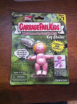 Garbage Pail Kids sealed  Keychain Key chain Keyring Busted Bob  2001 Rare GPK