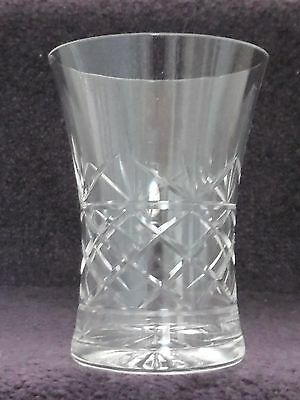 Antique HAND BLOWN GLASS VASE, Old VICTORIAN STAR CUT BASE, Vintage 19thC DECOR