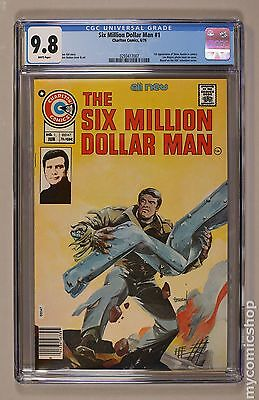 Six Million Dollar Man (1976 comic) #1 CGC 9.8 0293417007