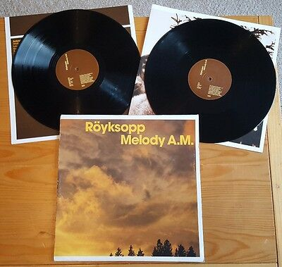 Röyksopp - Melody A.M. Double LP Vinyl Album ORIGINAL 2002