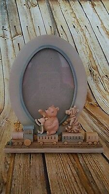 Disney Charpente Classic Winnie the Pooh Picture Frame Train Tigger Piglet VGC