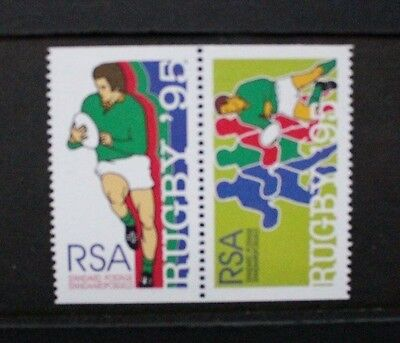 SOUTH AFRICA 1995 World Cup Rugby BOOKLET stamps. Mint Never Hinged. SG875a/876a