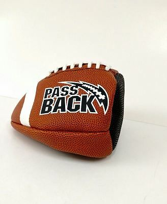 NEW Pass Back Pro Football Training Aid Football Official Size PB6C Junior Size