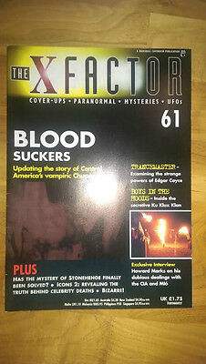 The X Factor Magazine No 61 - Blood Suckers