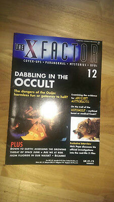 The X Factor Magazine No 12 - Dabbling in the Occult