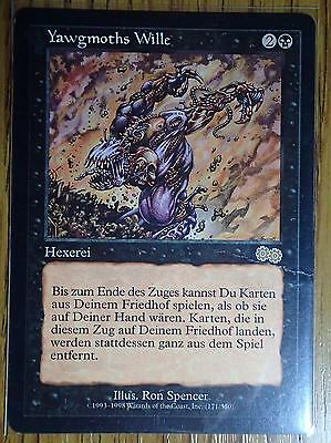 YAWGMOTH'S WILL - URZA'S SAGA - GERMAN - Magic the Gathering