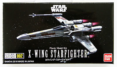 Bandai Star Wars Vehicle Model 002 X-Wing Starfighter non scale kit 048855