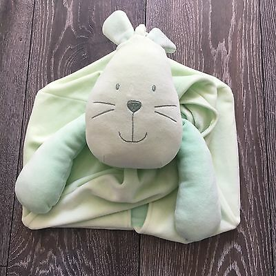 Mamas & Papas Hanging Nappy Stacker Green Bunny Rabbit Nursery Baby