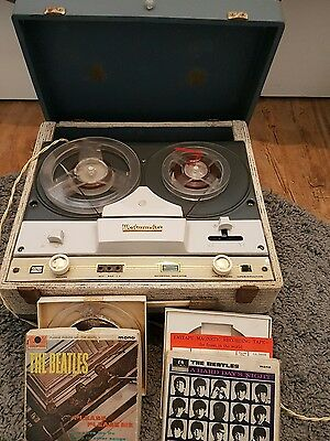 westminster reel to reel player recorder