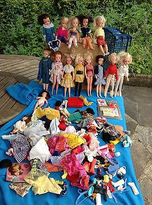 Vintage Sindy Collection With Some Rare Dolls Nice Lot