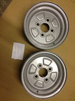 10 trailer wheels X2 100mm Pcd  Never Used Heaven Duty Pair New