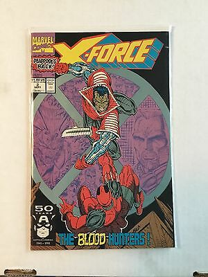 X-force #2 Second Appearance Of Dead Pool