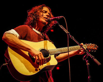 Chris Cornell 8x10 Photo R.I.P. Lab Printed Color Picture #146
