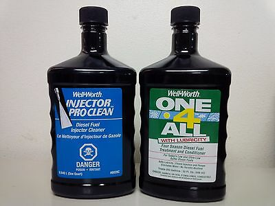 INJECTOR PRO CLEAN and ONE 4 ALL with LUBRICITY