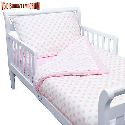 Toddler Bedding American Baby Company 100% Cotton 4 Piece Set Pink Comforter