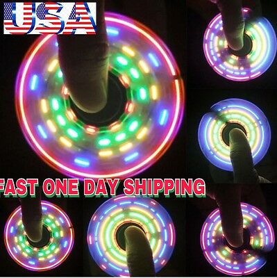 PATTERNS LED TRI SPINNER FIDGET(THE MASTERPIECE),5 LEDs 64 PATT, CHRISTMAS GIFT