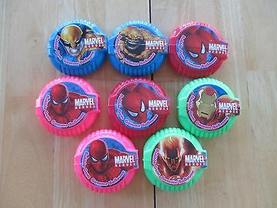 Gum Collection! Lot of 8 Regal Marvel Heroes Bubble Gum Rolls