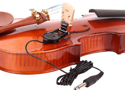 Acoustic Pickup Violin Viola Cello Bass Clip-on WCP-60V NEW