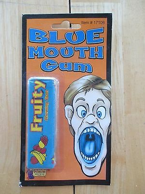 Gum Collection! Vintage 2004 Blue Mouth Gum, Forum Novelties