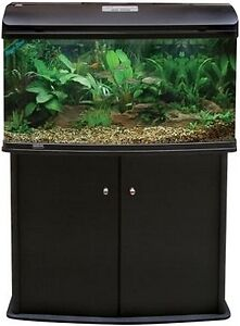 Aqua One AR 980 Black Aquarium With Cabinet FREE AQUA ONE HEATER
