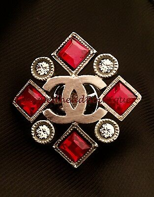 Chanel Art Deco Style Pin - BNWT!