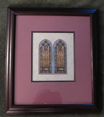 Original Stained Glass Concept Drawing Payne Spears Studios 1900