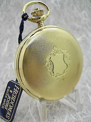 Hebdomas 17 Jewel Full Hunter Pocket Watch - Nos - A Quality Timepiece