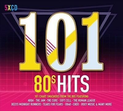 Various Artists - 101 80s Hits / Various [New CD] UK - Import
