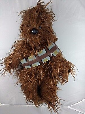 "Vintage Kenner Star Wars Chewbacca Plush Toy 20"" figure belt Wookie bandolier"
