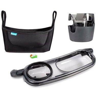 Uppababy Accessories  Pack | Parent Organiser-Cup Holder -Snack Tray