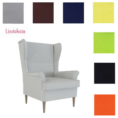 Custom Made Cover Fits IKEA Strandmon Chair, Replace Armchair Cover