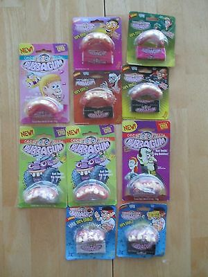 Gum Collection! Lot of 10 Vtg. Bubba Gum Candy Teeth & Bubble Gum Packs