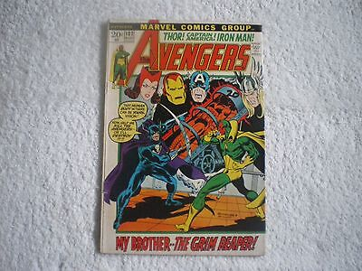 Marvel Comics AVENGERS #102 (1972) in FINE to VERY FINE condition