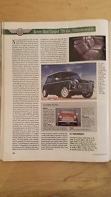 Ritaglio Clipping 1992 Rover Mini Cooper Tbi Cat. (Ac6)