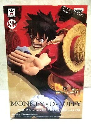 BANPRESTO ONE PIECE SCultures BIG ZOUKEIOU 6 vol.3 MONKEY.D.LUFFY