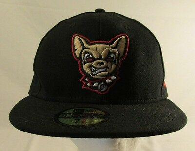 El Paso Chihauhuas New Era Authentic 59FIFTY Fitted Hat - Black - MiLB 7 1/2