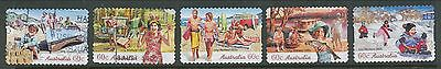 Australian Stamps: 2007 The Long Weekend - Set of 5 P&S - Used