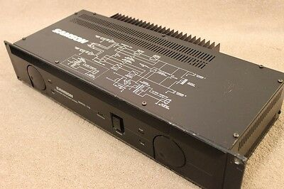 SAMSON SERVO 170 STUDIO POWER PROFFESIONAL AMP Tested and working perfectly