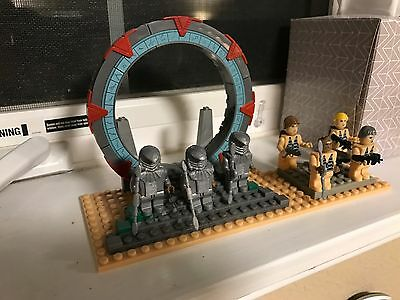 Best-Lock Set Stargate Sg1 Battle Over Abydos Deluxe Set Gate & Figs Only