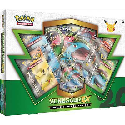 Venusaur EX Box Pokemon Cards TCG Generations Red & Blue Collection New Rare