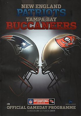 New England Patriots v Tampa Bay Buccaneers 2009 International Series Programme
