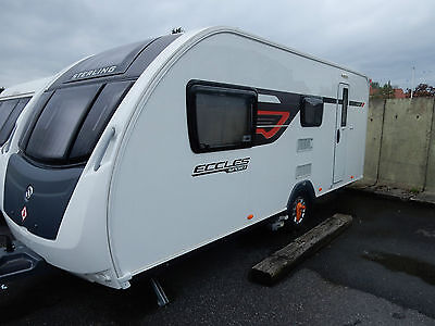 2015 Sterling Eccles Sport 524 - 4 Berth Caravan for Sale with Motor-mover
